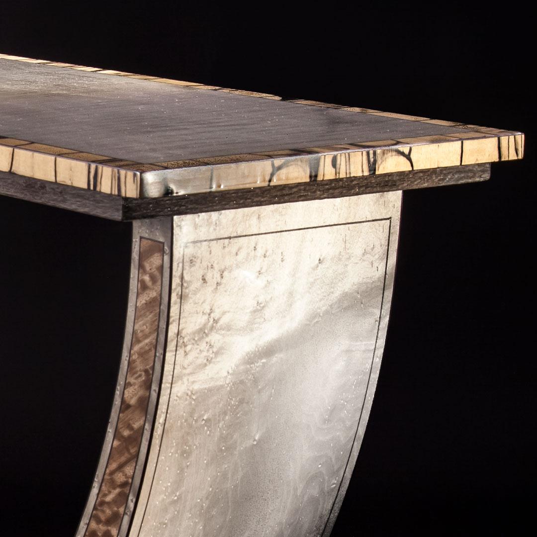 Excelsior Silver Maple Oblique Top Corner Full