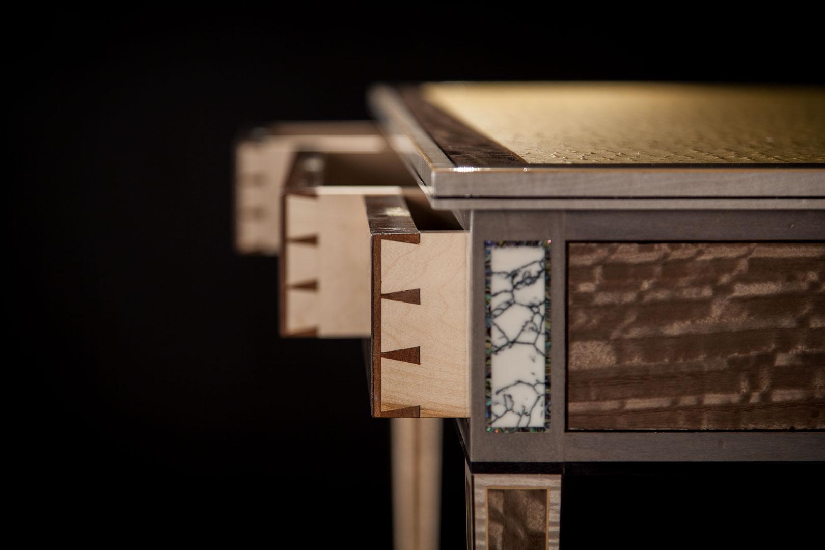Codex Desk Draws Dovetails Full