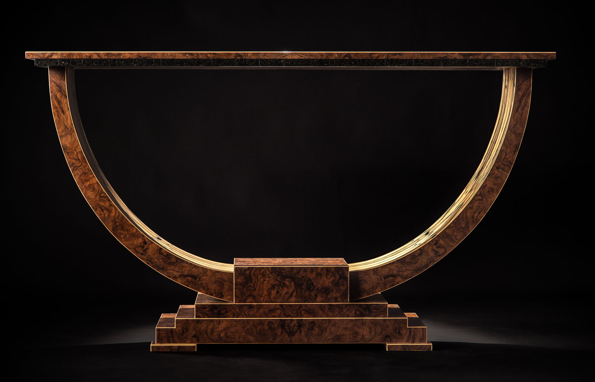 Excelsior White Ebony Front Straight
